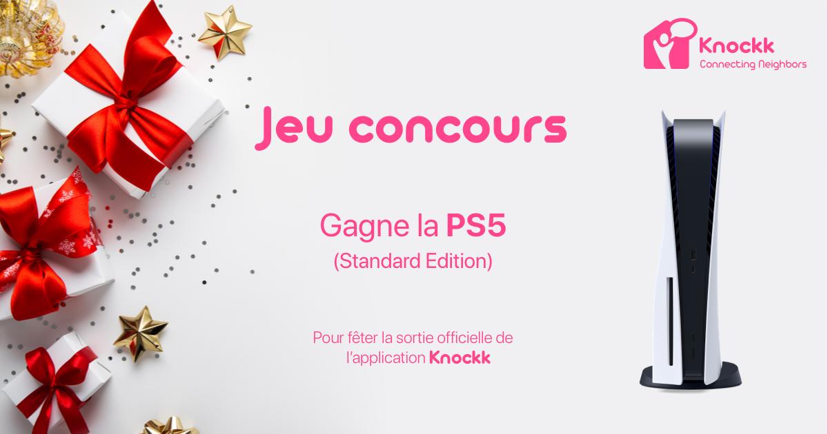 Jeu concours Knockk pour fêter le lancement officiel de l'application à Lyon 🎊🥳